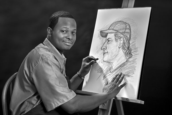 Portrait of Jamaal Rolle