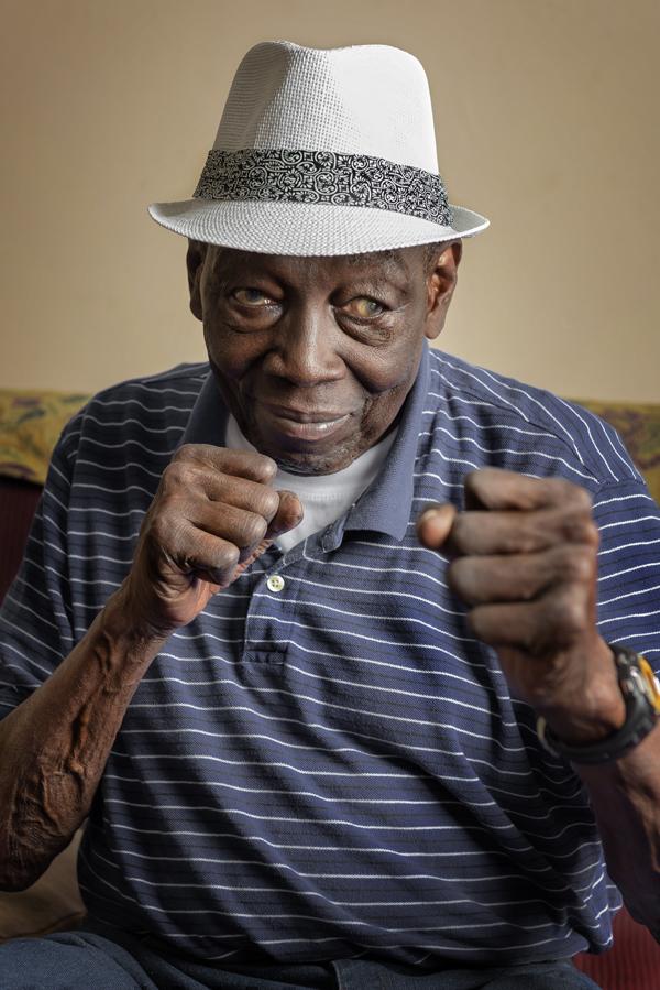 Portrait of Leonard 'Boston Blackie' Miller